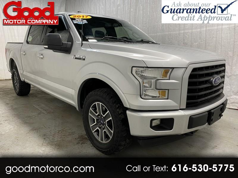 "Ford F-150 4WD SuperCrew 139"" FX4 2017"