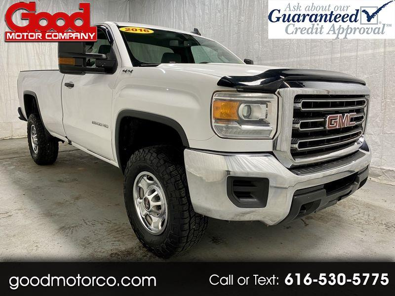 GMC Sierra 2500HD Base Long Box 4WD 2016