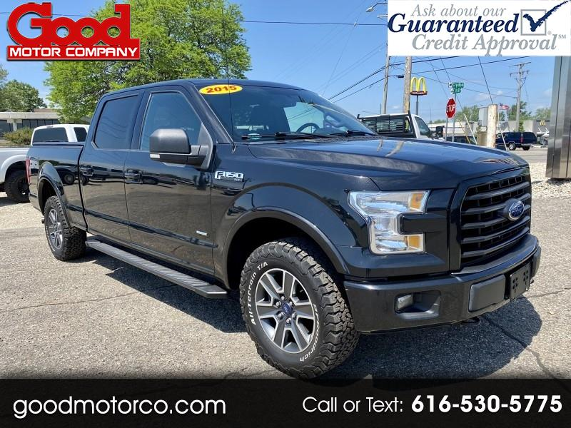 """Ford F-150 4WD SuperCrew 157"""" XLT w/HD Payload Pkg 2015"""