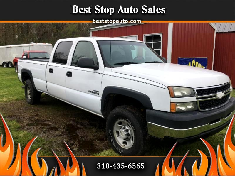 Chevrolet Silverado 2500HD Work Truck Crew Cab Long Bed 4WD 2006