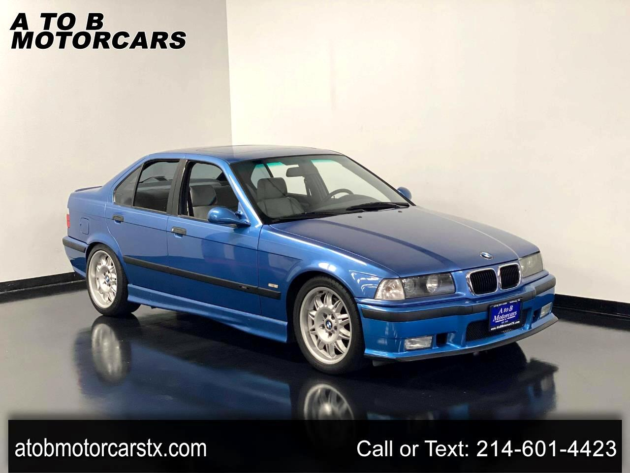 BMW 3 Series M3S 4dr Sdn Manual 1998
