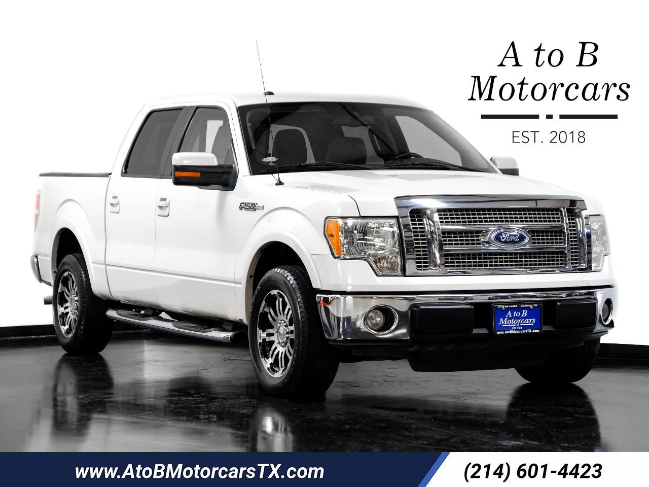 """Ford F-150 2WD Supercab 133"""" Lariat 2010"""