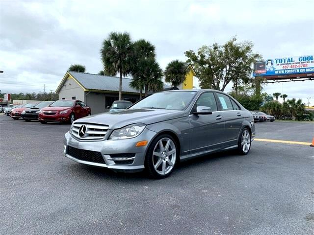 Mercedes-Benz C-Class C250 Luxury Sedan 2012