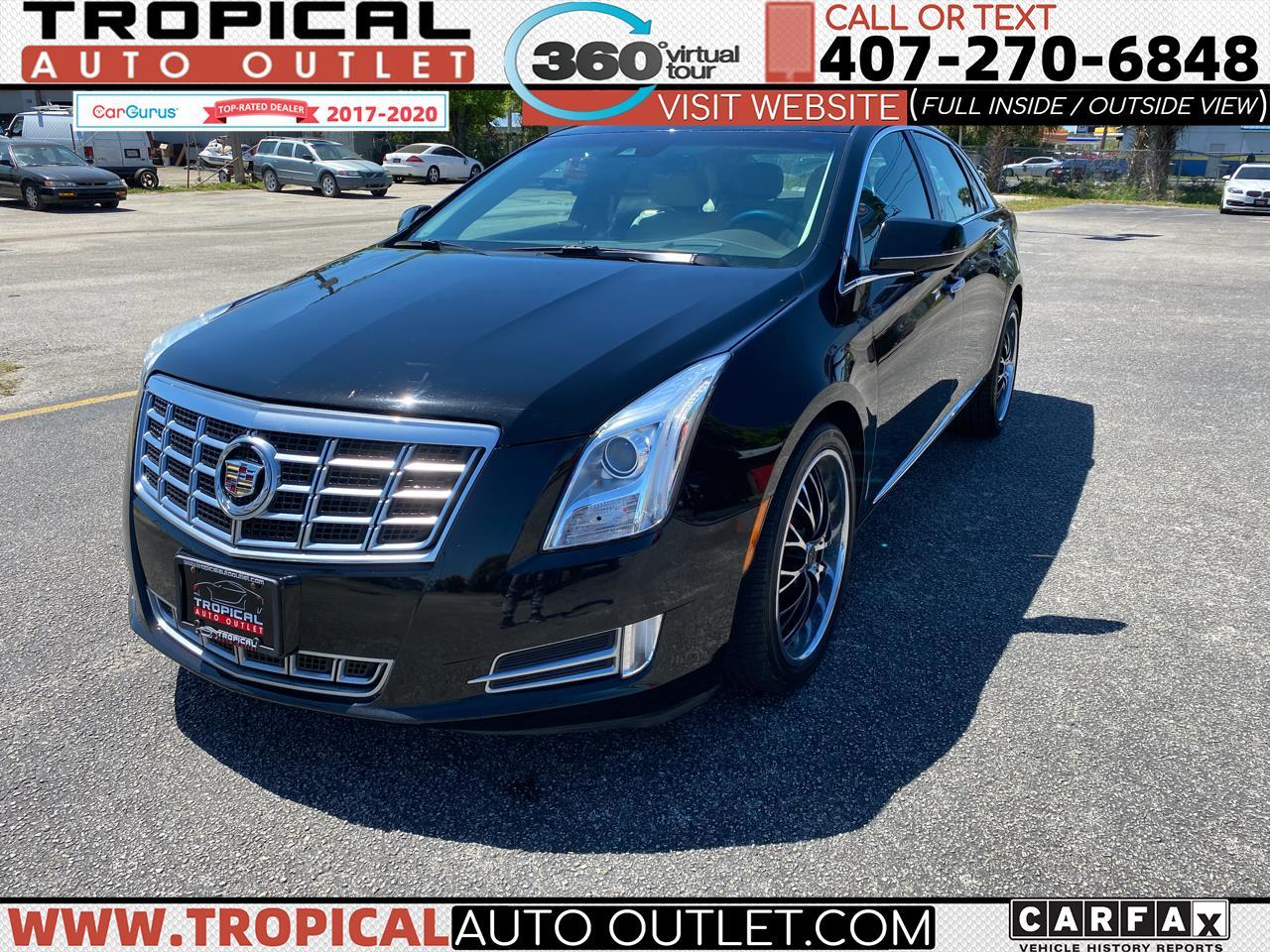 Cadillac XTS 4dr Sdn Premium AWD 2013