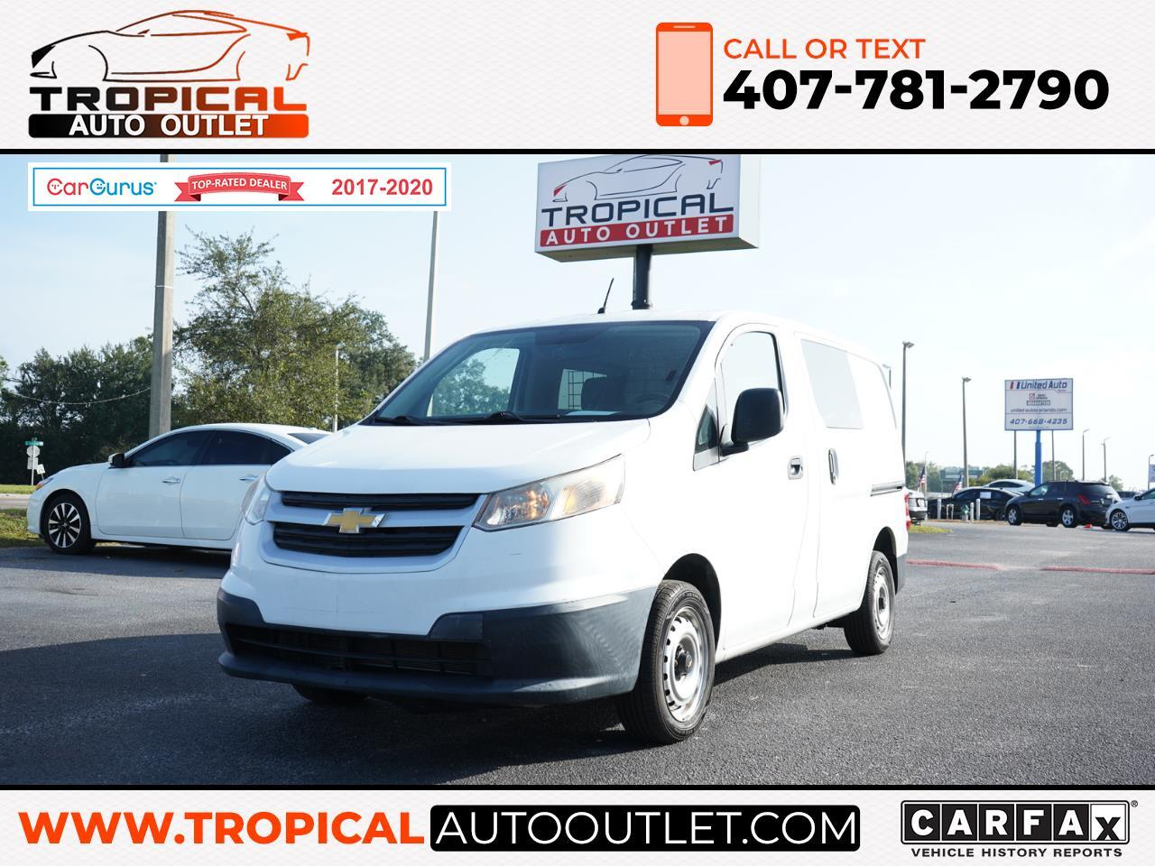 """Chevrolet City Express Cargo Van FWD 115"""" LT 2016"""
