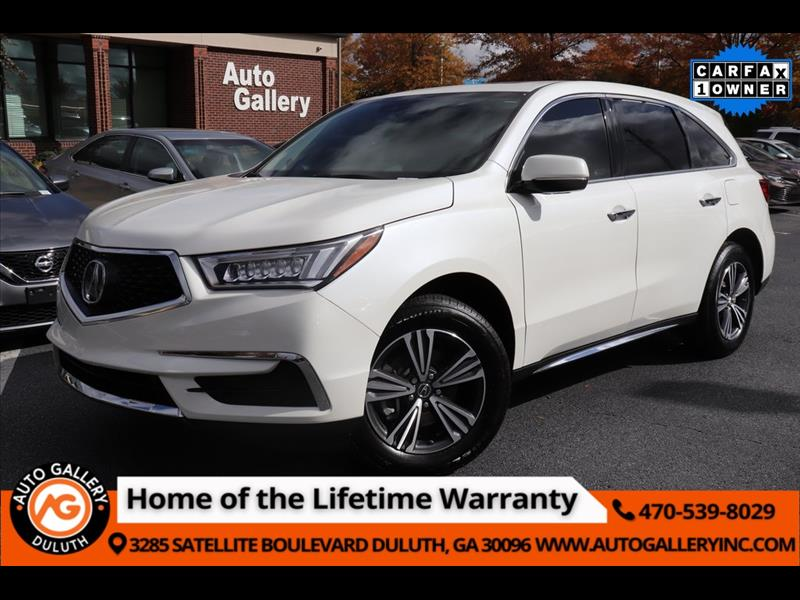 Acura MDX 9-Spd AT 2018