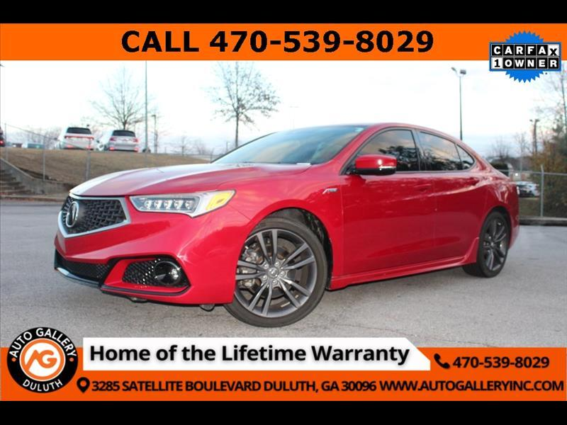 Acura TLX A-Spec 3.5L 2019