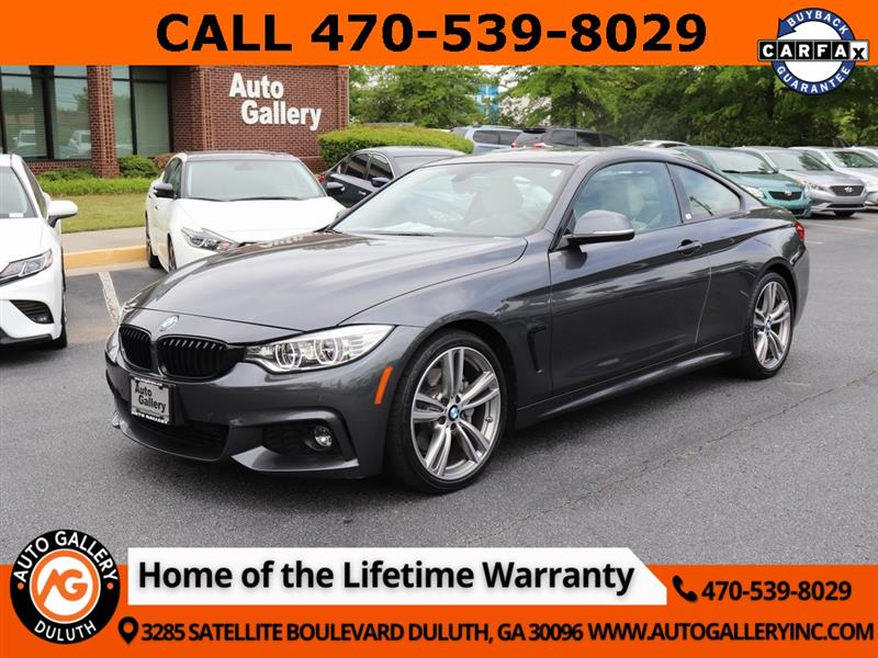 BMW 4-Series 440i coupe 2017