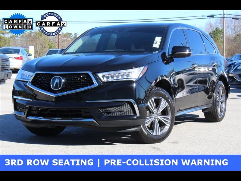 Acura MDX SH-AWD 9-Spd AT 2018