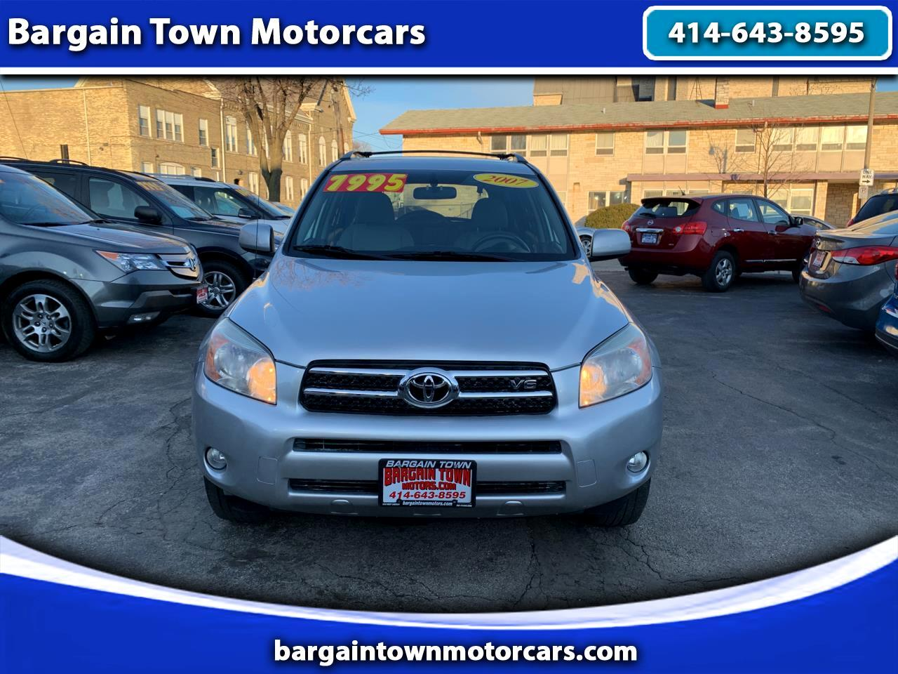 Toyota RAV4 Limited V6 4WD with 3rd Row 2007