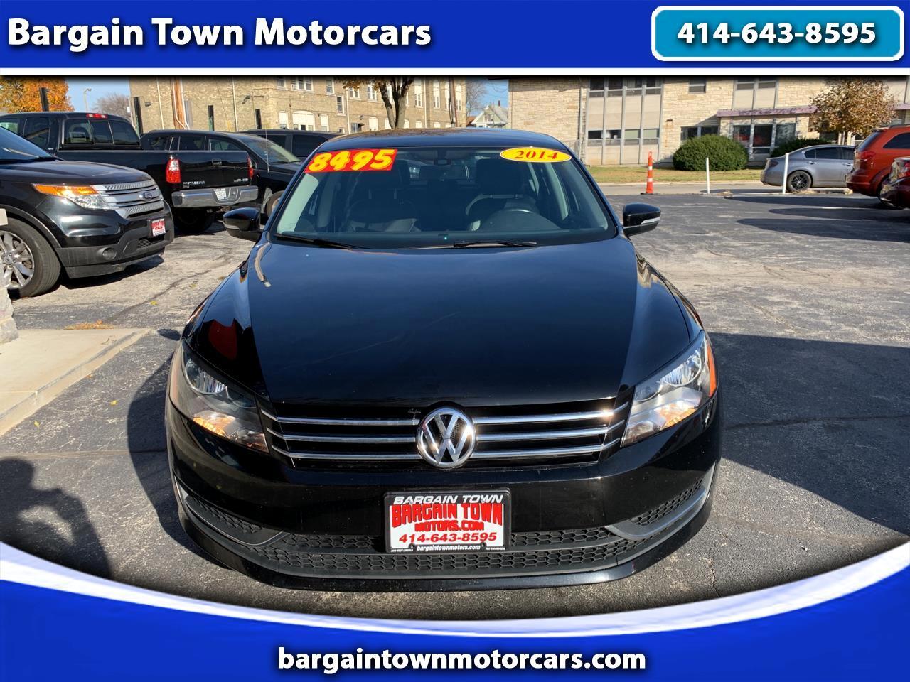 Volkswagen Passat 1.8T S Auto 2014