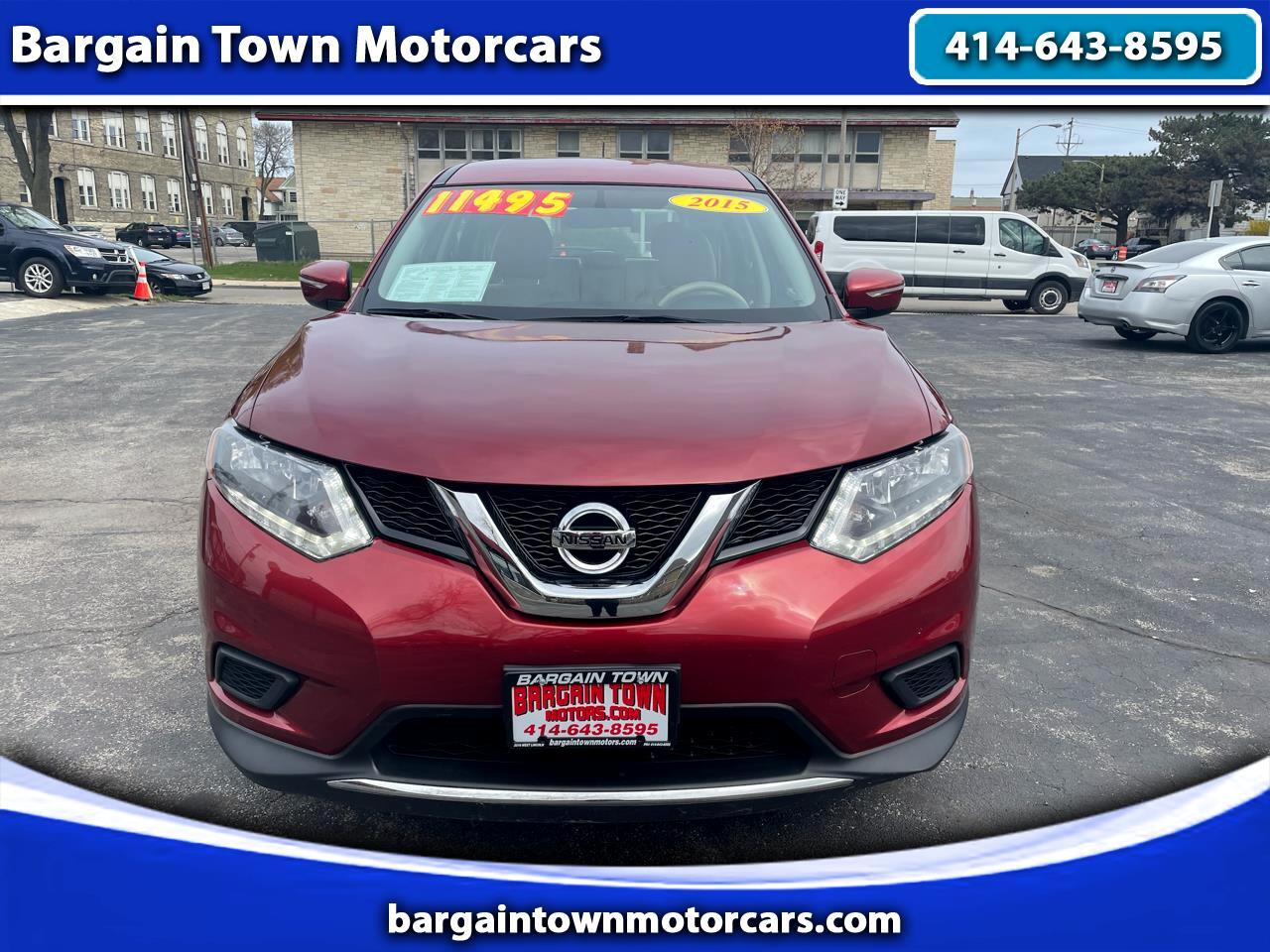 Nissan Rogue 2017.5 AWD S 2015