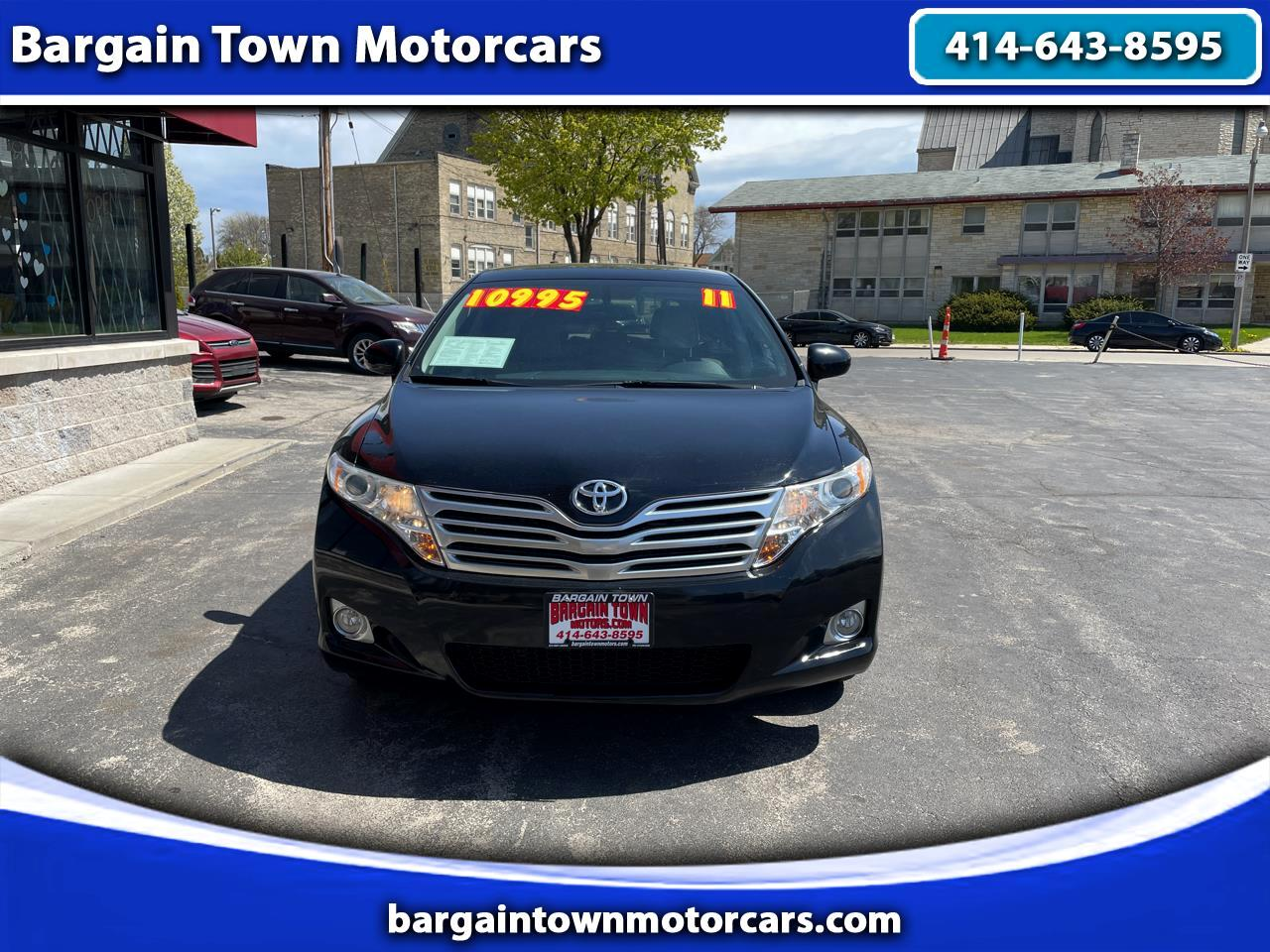 Toyota Venza 4D SUV AWD 2011