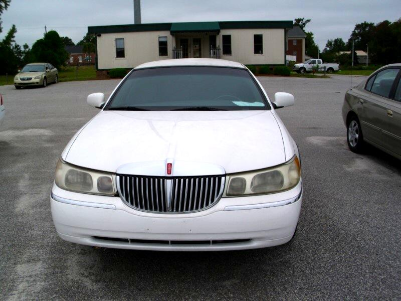 Used 2000 Lincoln Town Car Limousine for Sale in Florence SC