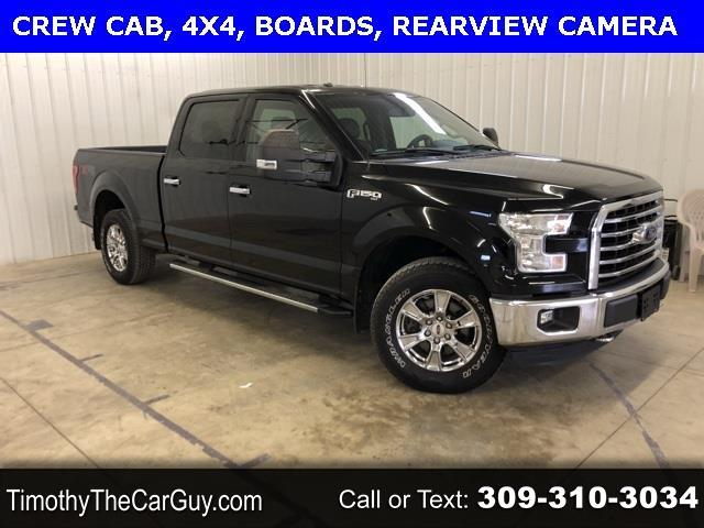 "Ford F-150 4WD SuperCrew 157"" XLT w/HD Payload Pkg 2016"