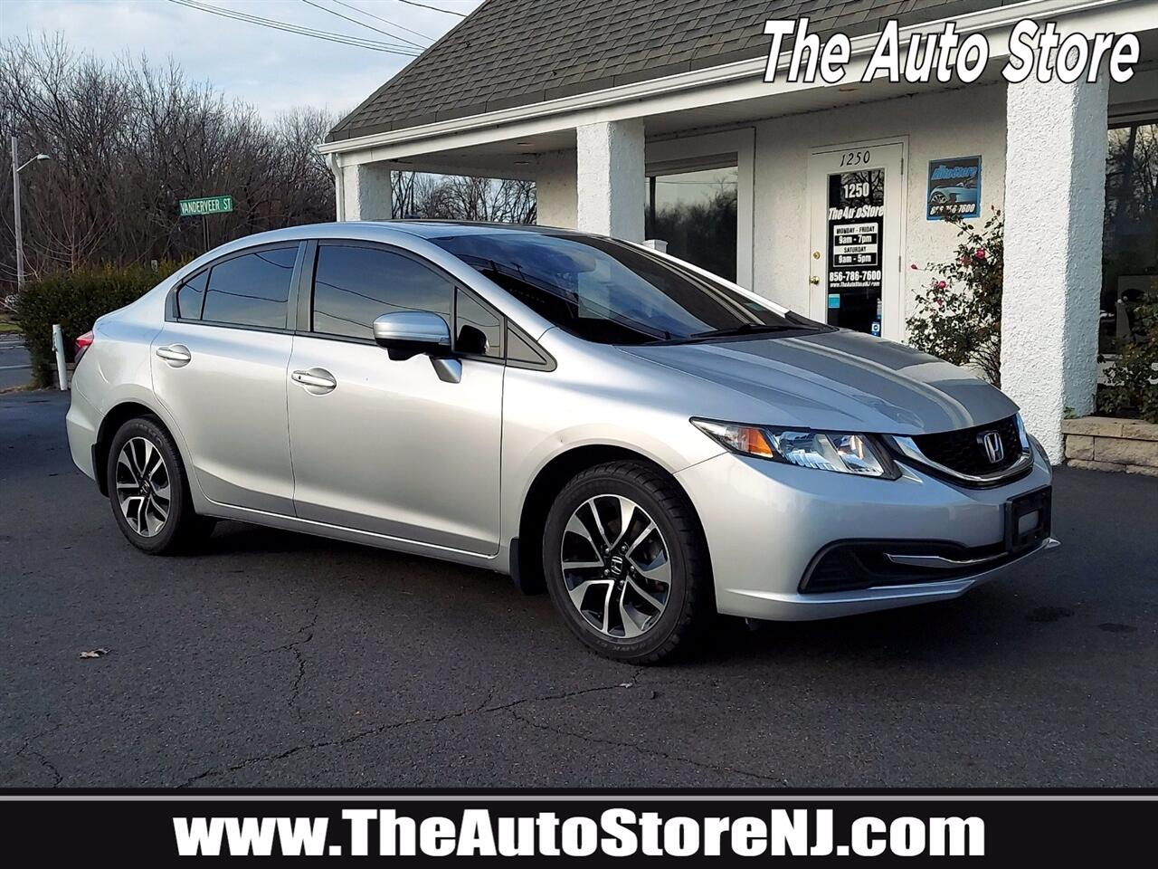 Honda Civic EX Sedan CVT 2015