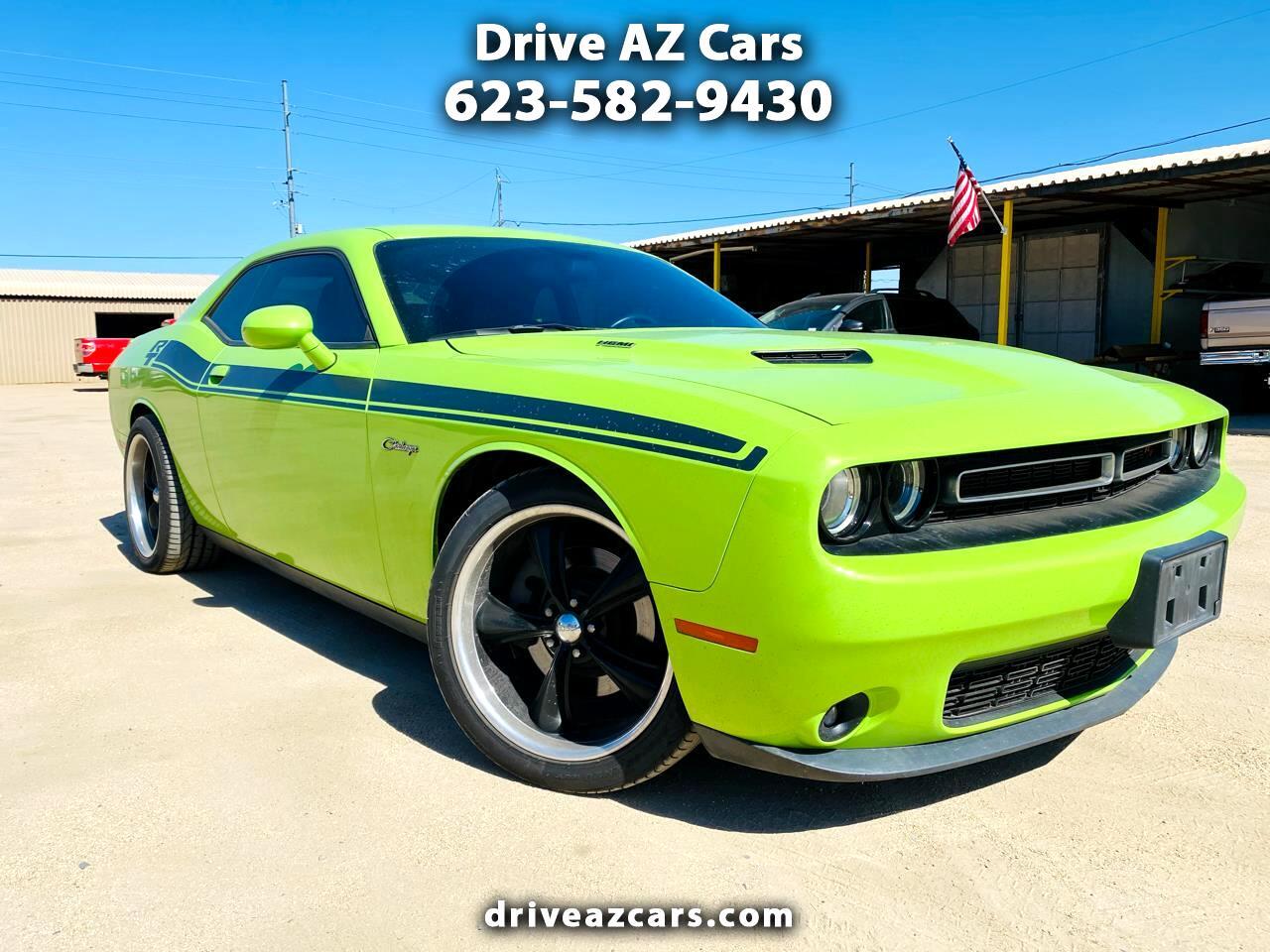 Dodge Challenger 2dr Cpe R/T Plus 2015