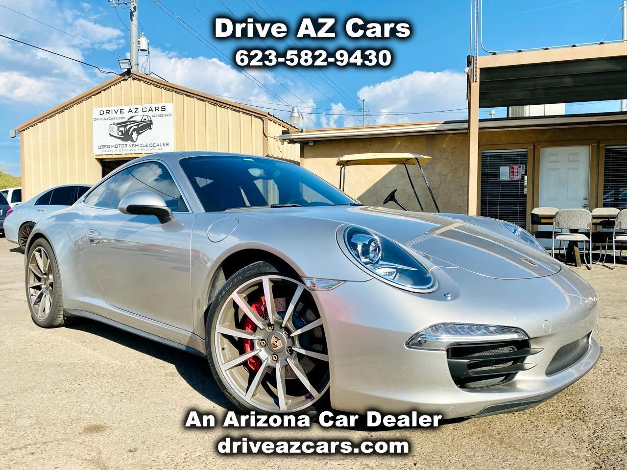 Porsche 911 2dr Cpe Carrera S 2013