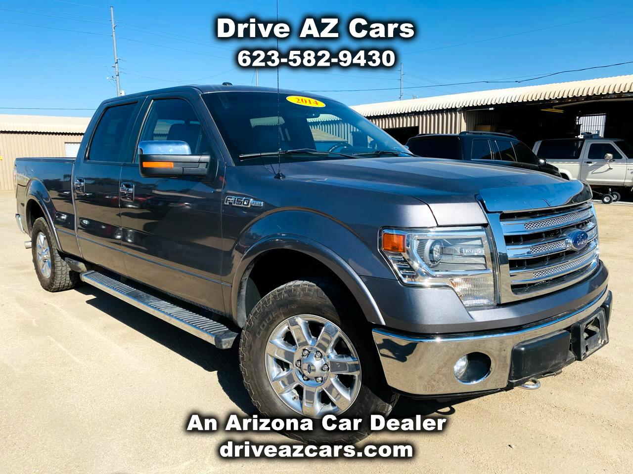 "Ford F-150 4WD SuperCrew 139"" XL 2014"