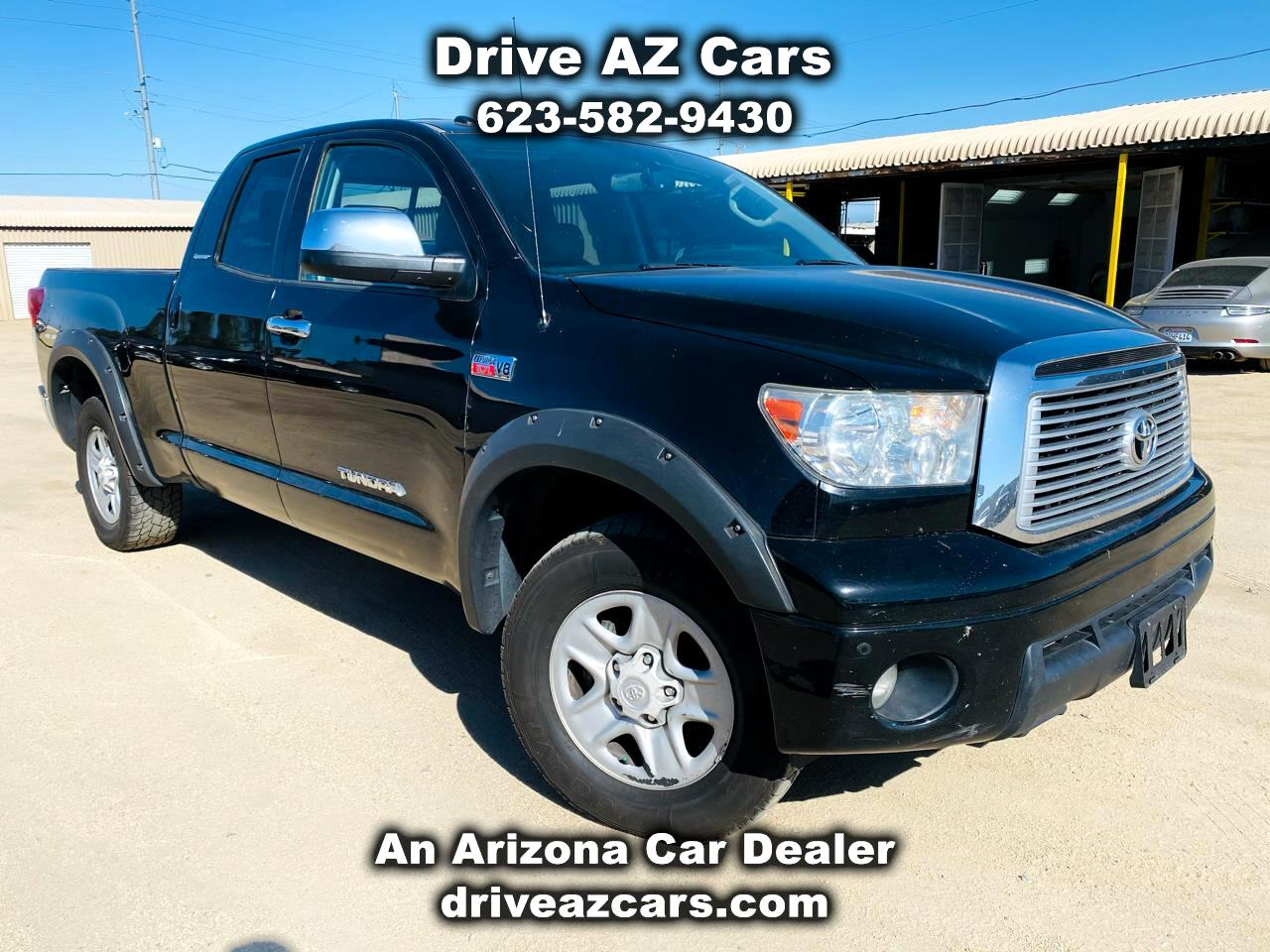Toyota Tundra Limited Double Cab 4WD 2012