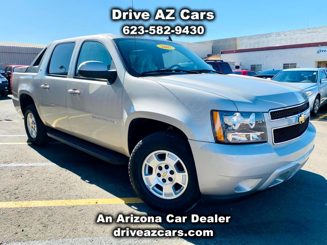 "Chevrolet Avalanche 2WD Crew Cab 130"" LT w/1LT 2007"