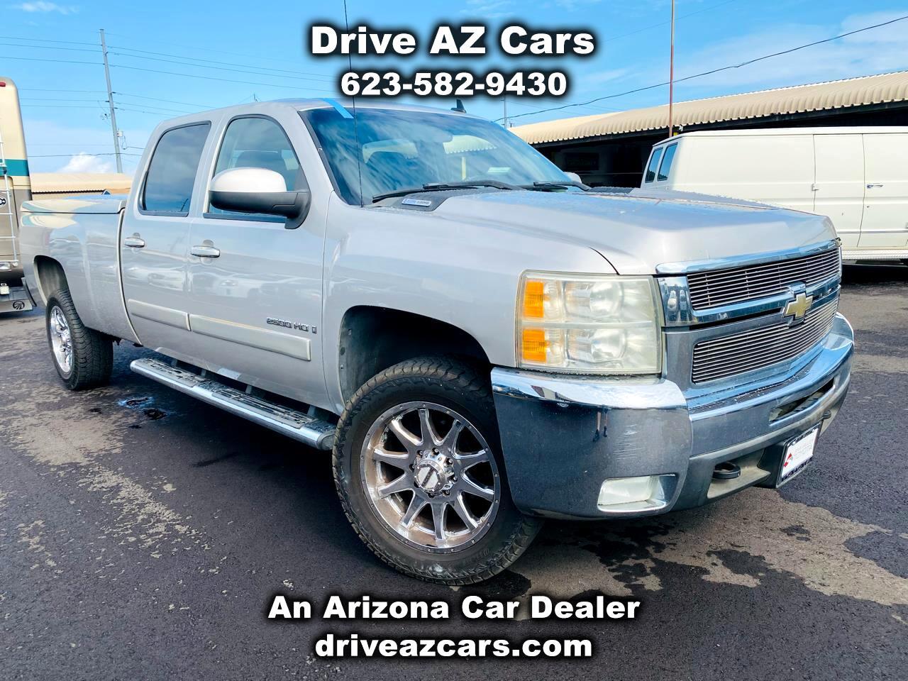 """Chevrolet Silverado 2500HD 4WD Crew Cab 167"""" LTZ 2008"""