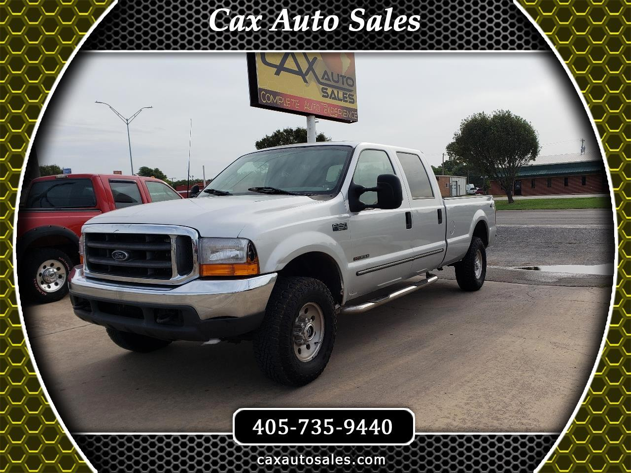 Ford F-250 SD XLT Crew Cab Long Bed 4WD 2000