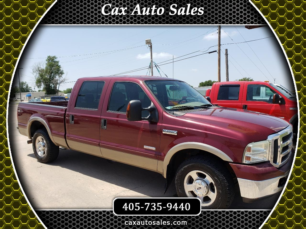 Ford F-250 SD Lariat Crew Cab Long Bed 2WD 2006
