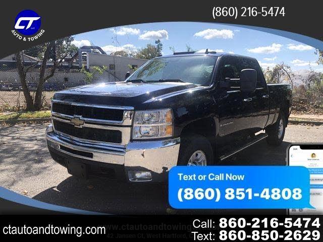 """Chevrolet Silverado 2500HD 4WD Crew Cab 153"""" LTZ 2009"""