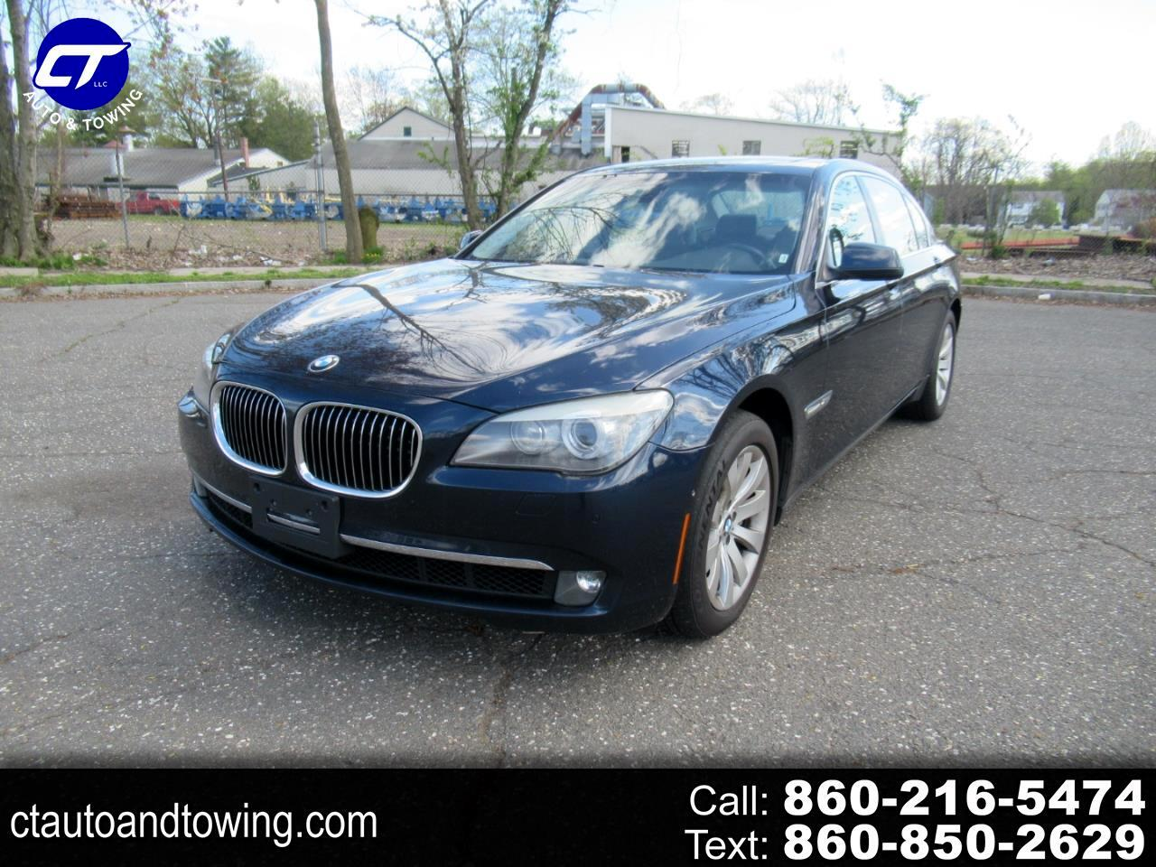 BMW 7 Series 4dr Sdn 750Li xDrive AWD 2011