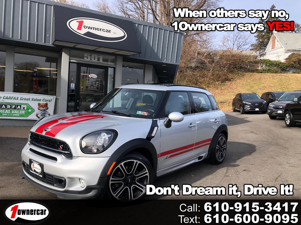 MINI Cooper Countryman ALL4 4dr S 2015