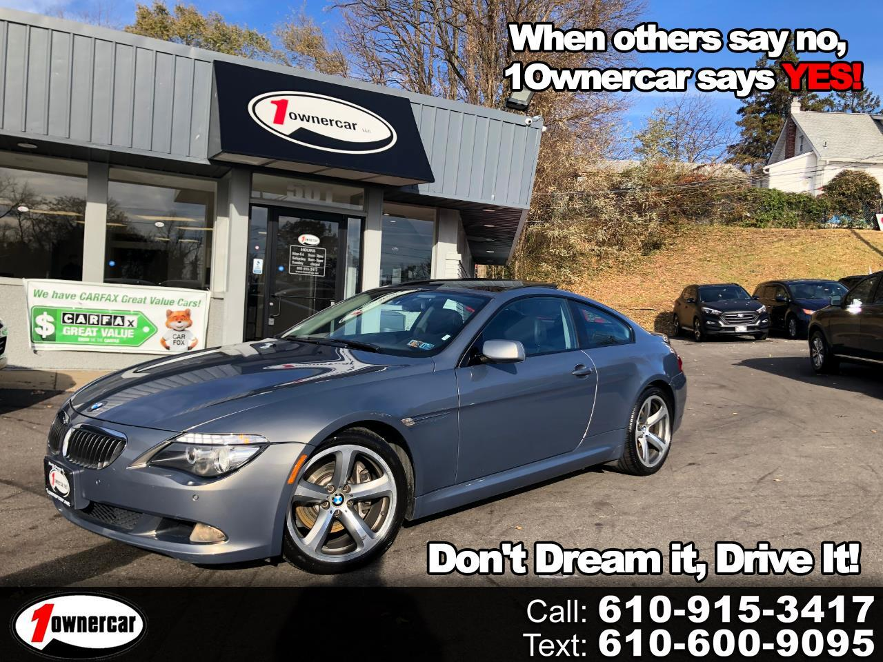 BMW 6 Series 2dr Cpe 650i 2008