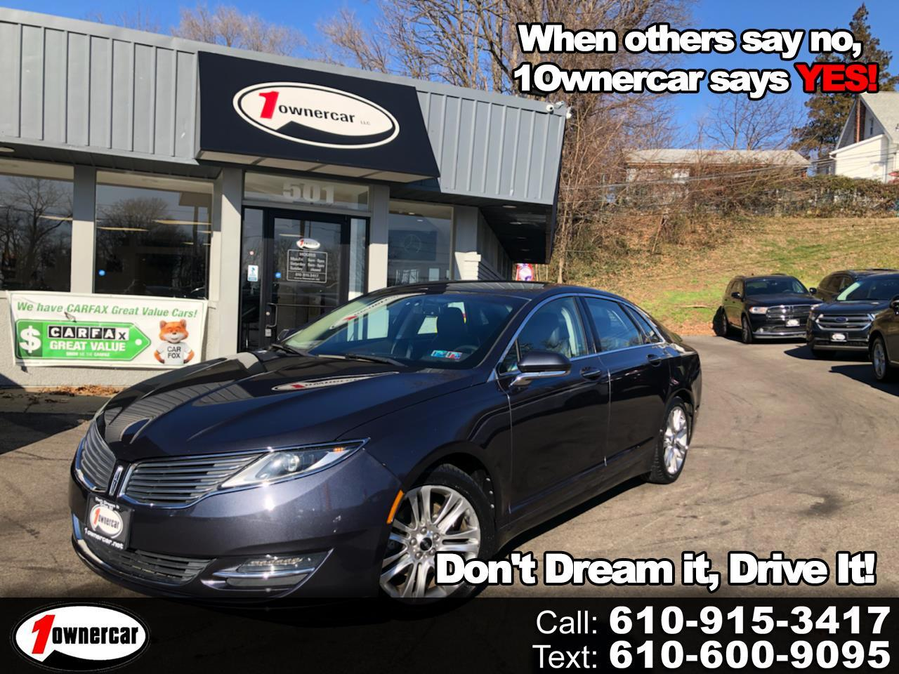Lincoln MKZ 4dr Sdn FWD 2013
