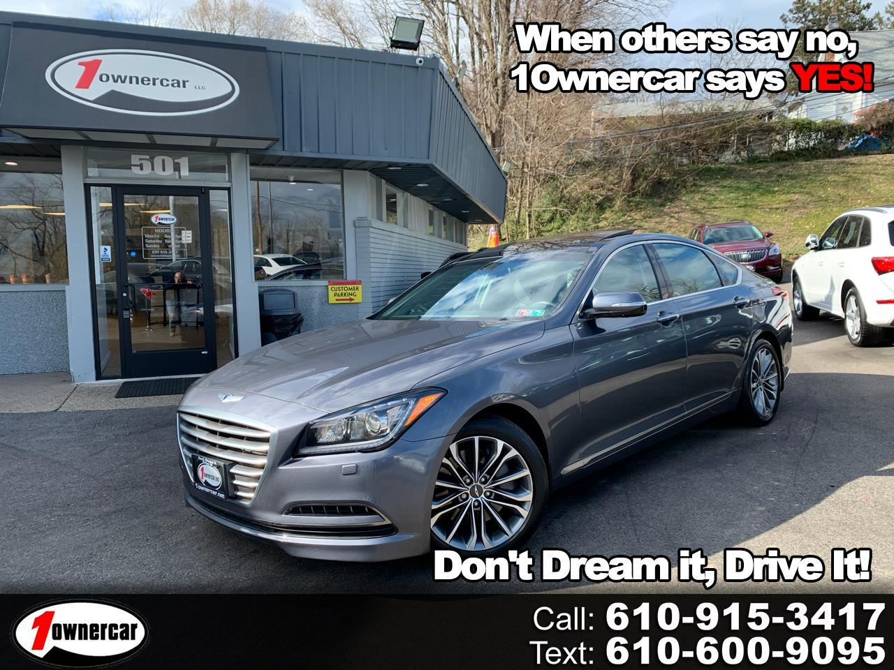 Hyundai Genesis Sedan 4dr Sdn V6 *Ltd Avail* 2015