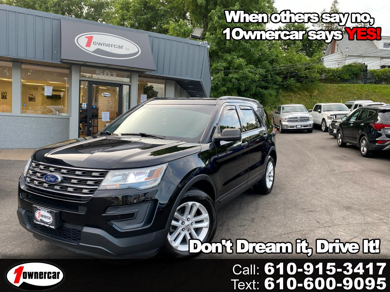 Ford Explorer FWD 4dr Base 2016