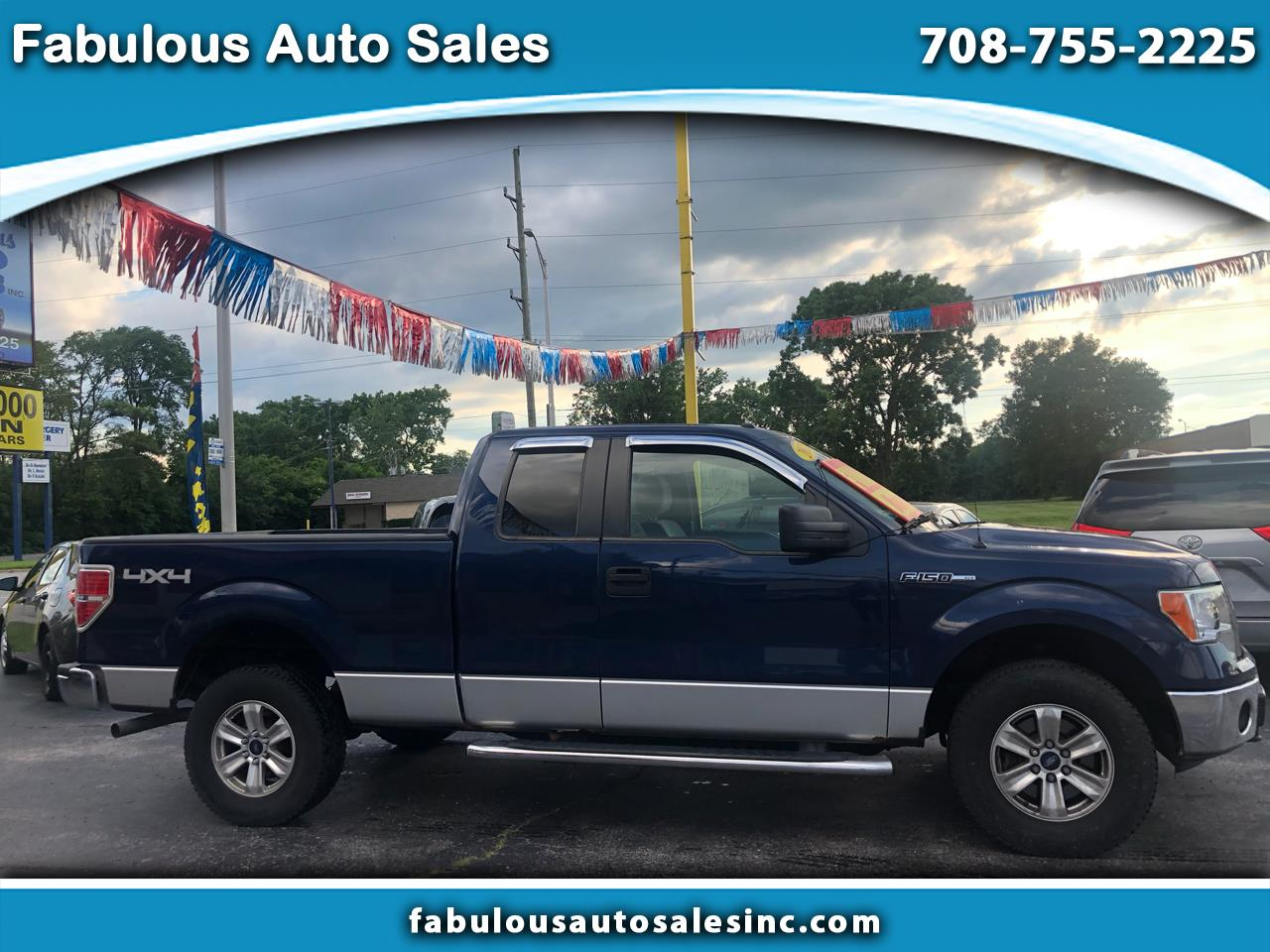 "Ford F-150 4WD SuperCab 145"" Lariat 2012"