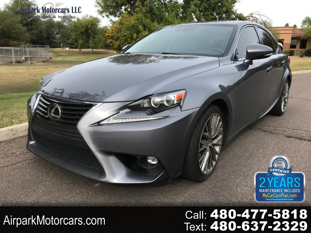 Lexus IS 250 4dr Sport Sdn Crafted Line RWD 2015