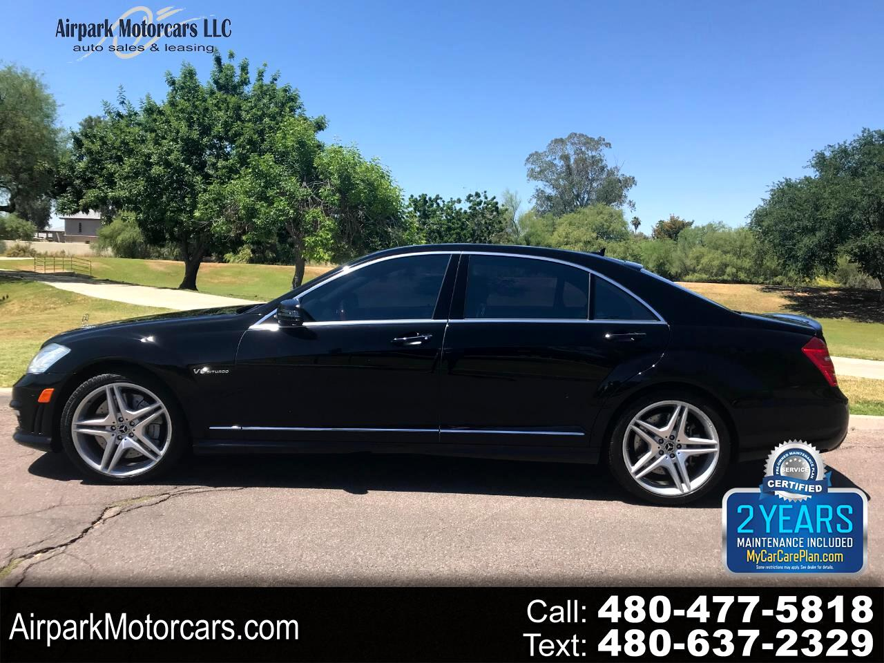 Mercedes-Benz S-Class 4dr Sdn S 63 AMG RWD 2011