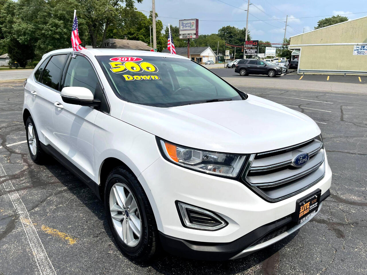 Ford Edge 4dr SEL FWD 2017