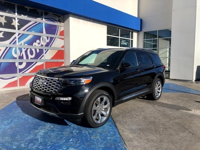 New 2020 Ford Explorer Platinum Awd For Sale In Joplin Mo