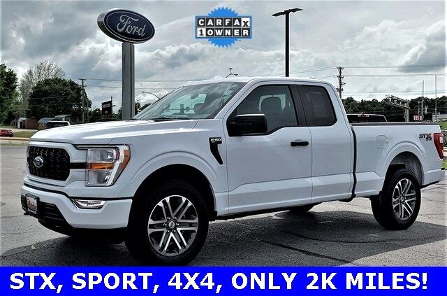 Ford F-150 XL SuperCab 8-ft. Bed 4WD 2021