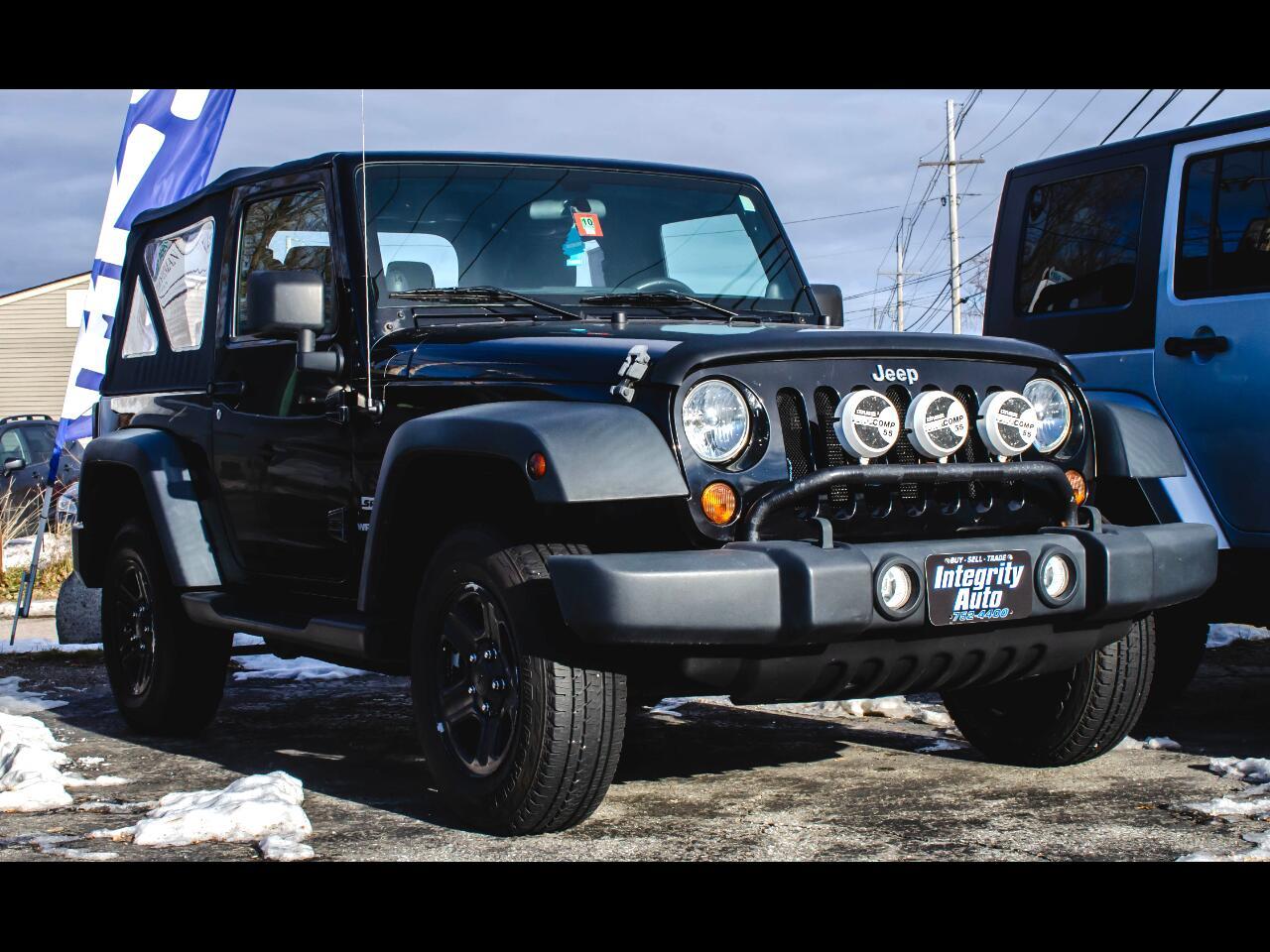 Jeep Wrangler 2dr Sport 2011