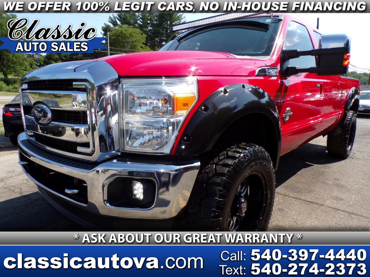 Ford F-250 SD Lariat Crew Cab Long Bed 4WD 2011