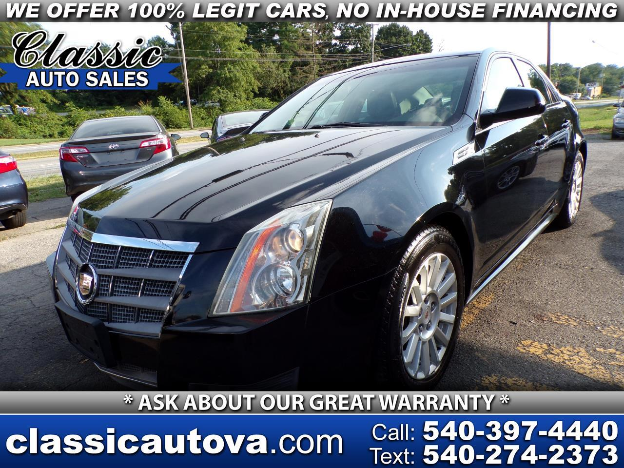Cadillac CTS 3.0L Luxury AWD 2010