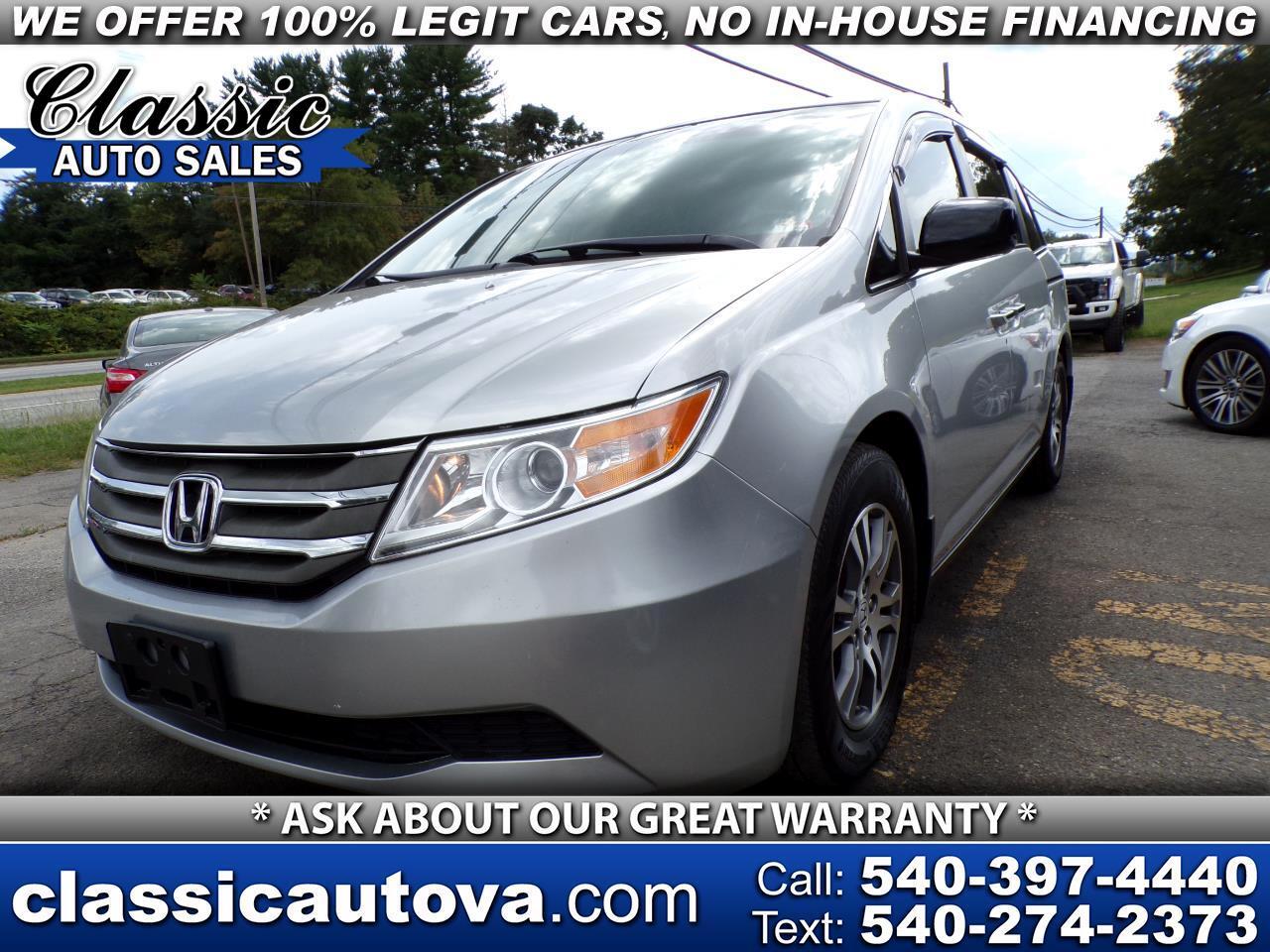 Honda Odyssey EX-L w/ DVD 2011