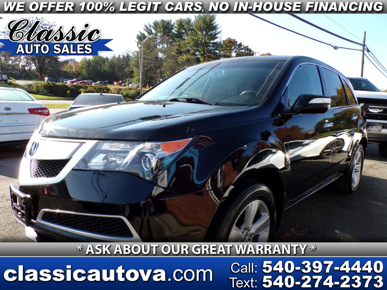 Acura MDX SH-AWD w/Advance Pkg 2010