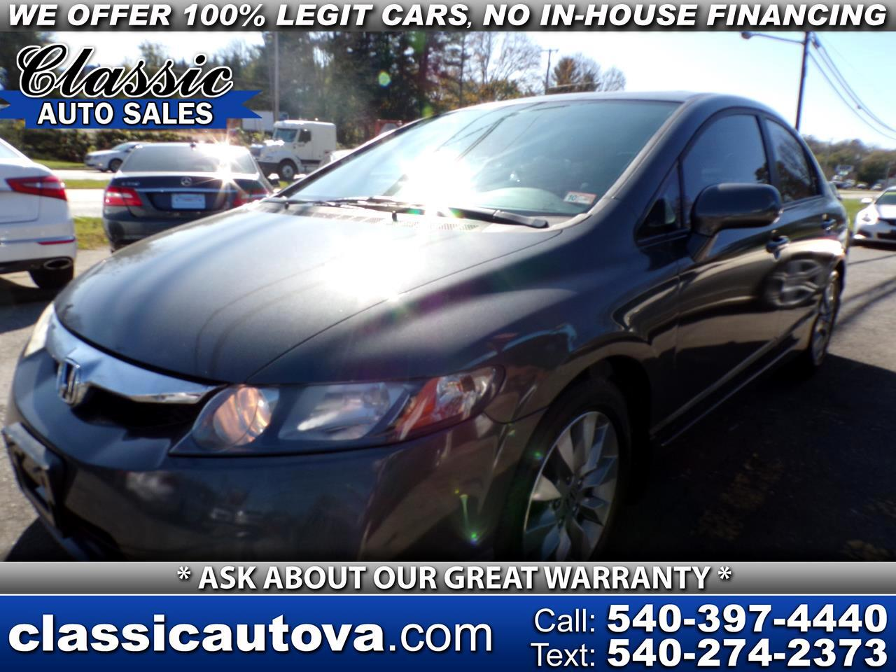 Honda Civic EX-L Sedan with Navigation 2010