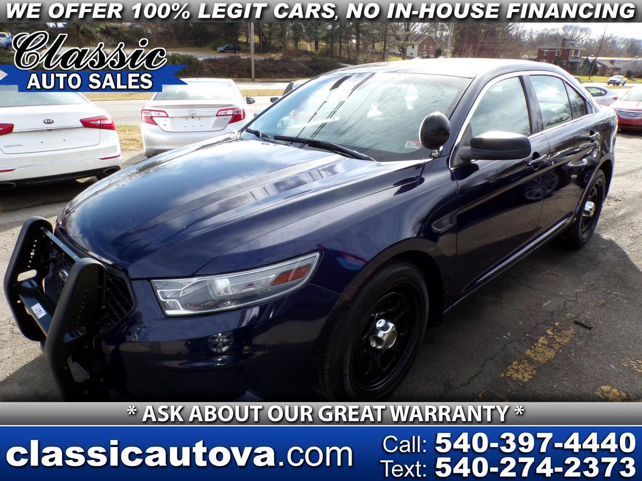 Ford Taurus Police AWD 2013