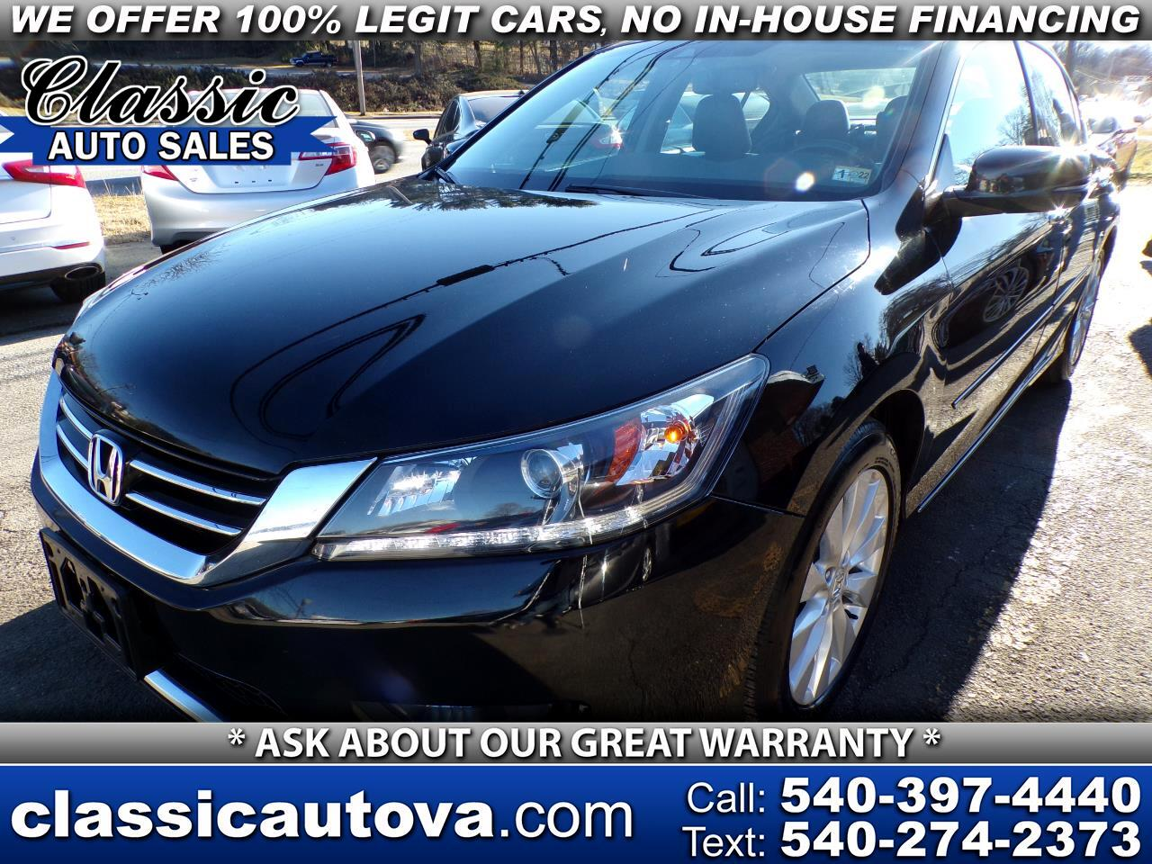 Honda Accord EX-L V6 Sedan AT with Navigation 2014