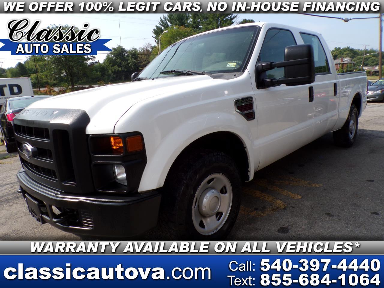 Ford F-250 SD Lariat Crew Cab Long Bed 2WD 2008